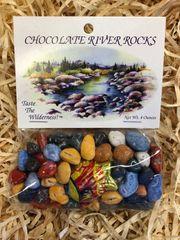 Chocolate River Rocks Bag 4oz
