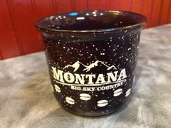 Big Sky Country Ceramic Campfire Mug Purple