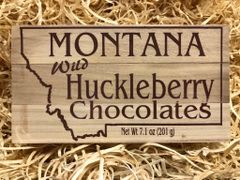 Wild Huckleberry Chocolate Cordials - 6 pack