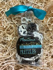 Dark Chocolate Sea Salt Pretzels