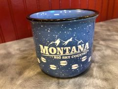 Big Sky Country Ceramic Campfire Mug