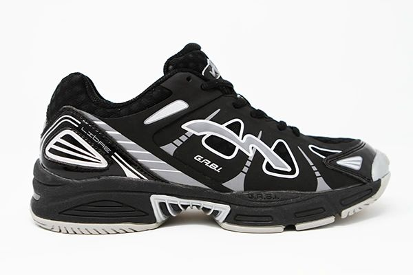 VB RAGS LIBRE | High Performance Volleyball Shoe | Black with Silver | Low