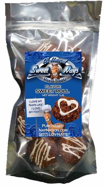 1 LB Resealable Bag Sweet Rolls