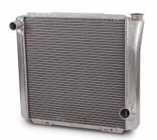 "AFCO Standard Aluminum Radiator - 19"" x 22"" x 3"" - Chevy"