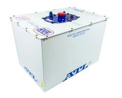 ATL Dirt Late Model Sport Fuel Cell - 26 Gallon - White Can