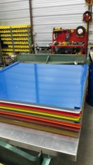 Rapid Ron's Racing Aluminum Roof with colored roof cap
