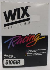 "WIX Racing Oil Filter - Late GM - 5.178"" x 3.660"" - 13/16""-16 Thread - No Bypass - 28 GPM"
