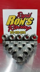 "Rapid Ron's Racing Aluminum Double Chamfered Lug Nut - 5/8""-11 - (10 Pack)"