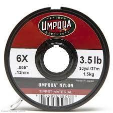 Umpqua Tippet Material 6X 3.5 lb