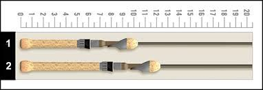 ST. Croix Trout Series Spining Rods TSS54ULF