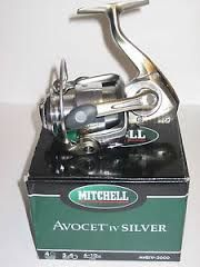 Mitchell Avocet IV Silver 5.4:1 4/160