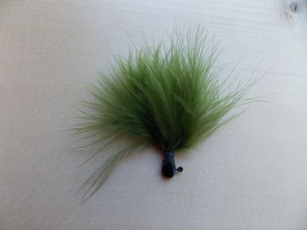 Weaver's Premium Marabou Jigs/ Moss