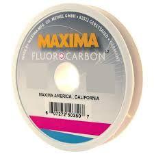 Maxima Fluorcarbon Leader Wheels 4lb 27 yrds