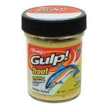 Berkley Gulp Trout Dough Bait Chunky Cheese Garlic