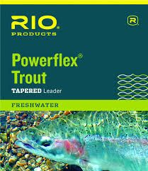 Rio Powerflex Tapered Leader 9 ft 6X 3.4 lb