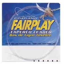 Cortland Fairplay Tapered Leader 9 ft 5X 3.5 lb