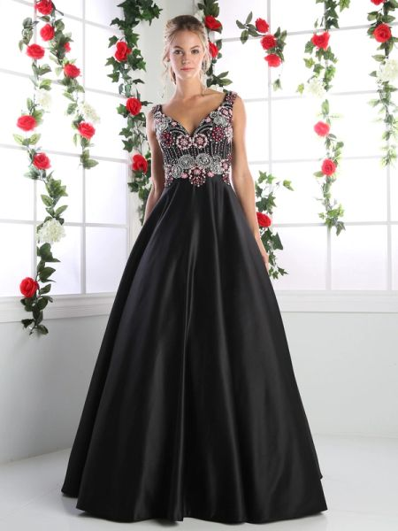 Cinderella Divine Ck75 Sweetheart Formal Gown With Full Skirt