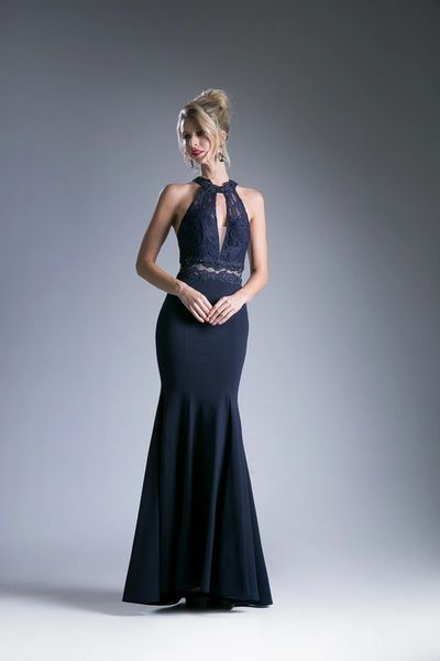 Cinderella Divine CF102 Lace Halter Top Prom Dress \'\'2017 Collection ...