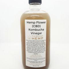 Hemp Flower Kombucha Vinegar