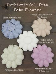 Probiotic Oil-Free Bath Flower