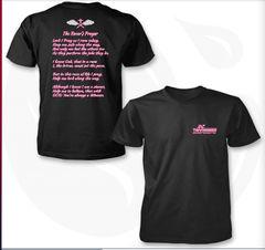 Racers Prayer Black & Pink