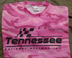 Pink camo & black logo T-shirt
