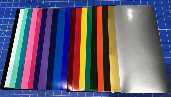 Starter Pack Oracal 651 Craft Vinyl Craft Vinyl Supplies