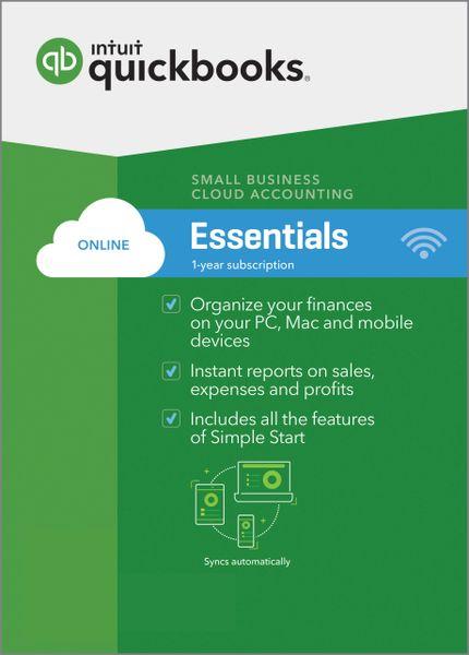 QuickBooks Online Essentials 2017