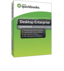 QuickBooks Desktop Enterprise `SILVER 2019 Annual Subscription. Choose from 1 to 30 Users