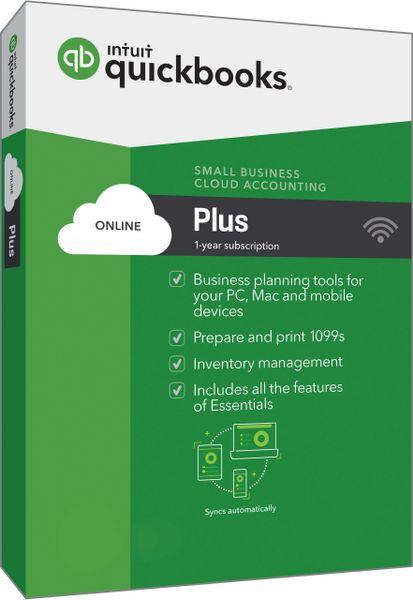 QuickBooks Online Plus 2017