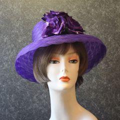 Purple Church Hat