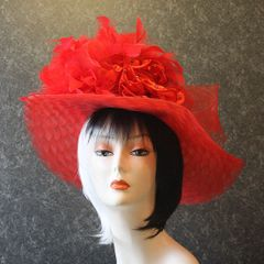Red Church Hat
