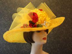 Yellow Kentucky Derby Hat