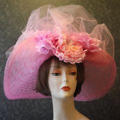 Pink Derby Hat