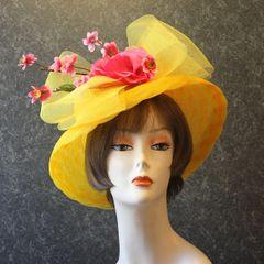 Yellow Church Hat