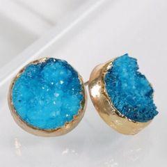 Isabella Earrings - Blue