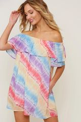 Sofia Dress - Rainbow