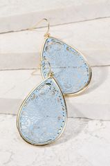 Charlotte Earrings - Blue