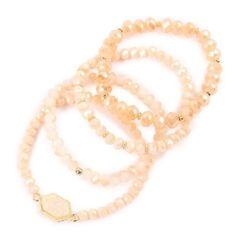 Rylee Bracelets - Brown