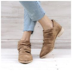 Allison Booties - Caramel