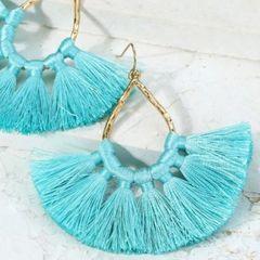 Ava Earrings - Mint