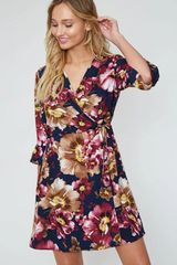 Ellie Dress - Navy