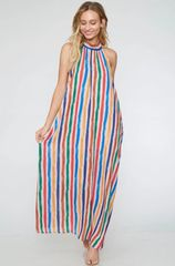 Leah Dress - Multi Color