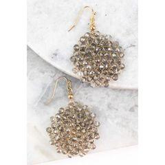 Sadie Earrings - Black Diamond