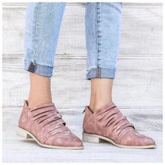 Allison Booties - Blush