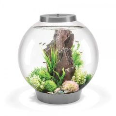 biOrb Classic 60L Aquarium with MCR LED - Silver 45746