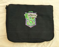 Slytherin Harry Potter Embroidered Messenger Bag