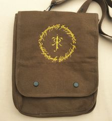 Lord of the Rings Embroidered Tablet Bag