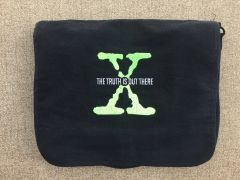 X-Files Embroidered Messenger Bag