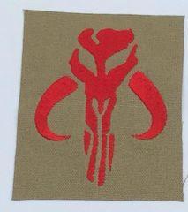 Mandalorean Embroidered Symbol